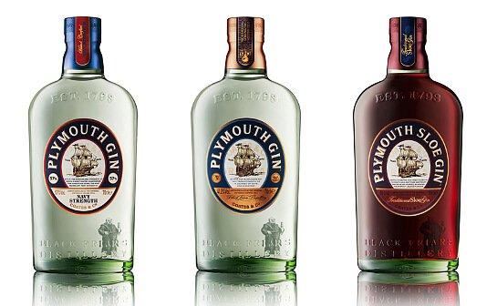 plymouth gin range - markenseite sorten-übersicht