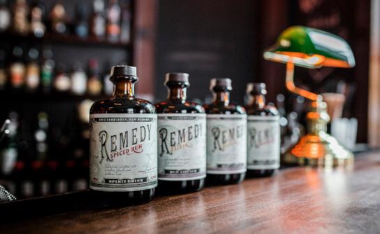 remedy spiced rum - markenseite sorten-übersicht
