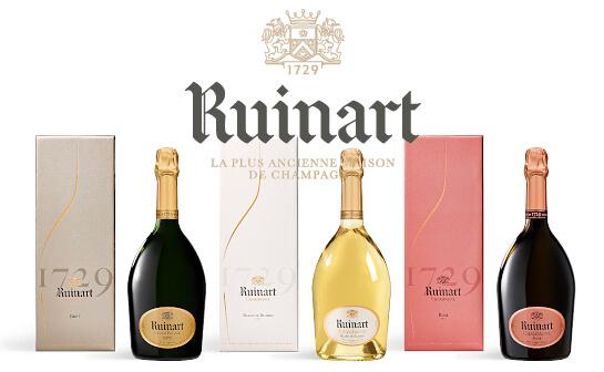 ruinart champagner - markenseite sorten-übersicht