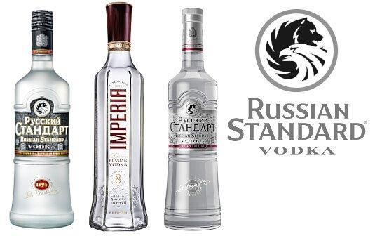russian standard vodka - markenseite sorten-übersicht