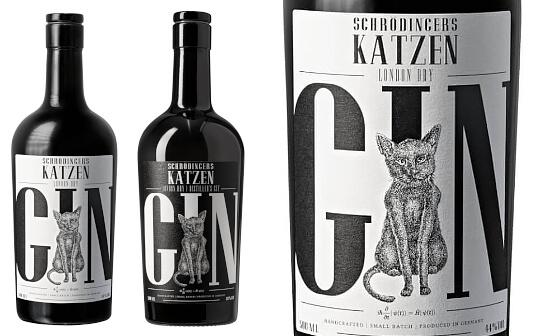 schrödingers katzen gin - markenseite sorten-übersicht