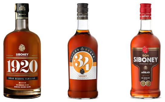 siboney rum - markenseite sorten-übersicht