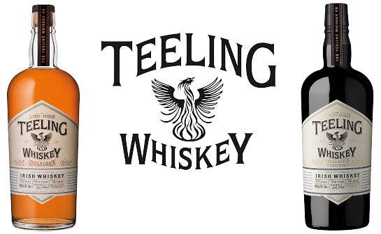 teeling irish whiskey - markenseite sorten-übersicht
