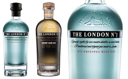 the london no1 gin - markenseite sorten-übersicht
