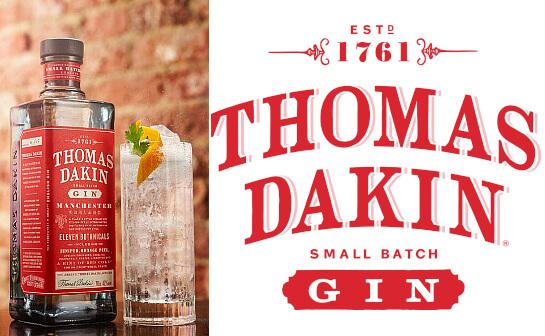 thomas dakin gin - markenseite sorten-übersicht
