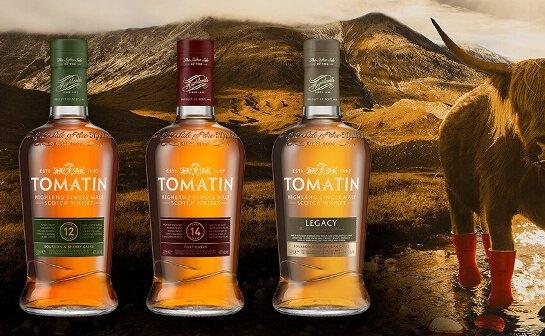 tomatin whisky - markenseite sorten-übersicht