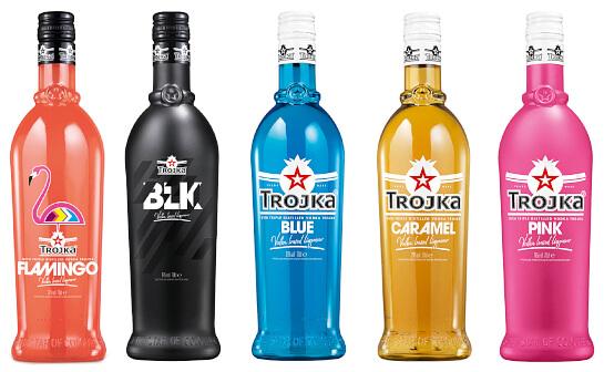 trojka likör - markenseite sorten-übersicht