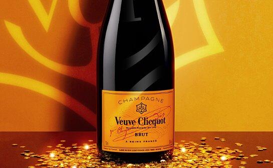veuve clicquot champagner - markenseite sorten-übersicht
