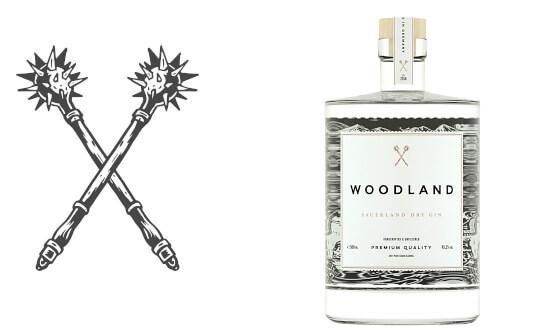 woodland gin - markenseite sorten-übersicht