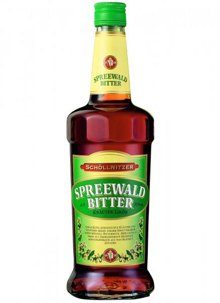 Schöllnitzer Spreewald Bitter Kräuterlikör 0,7 L
