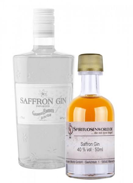 Saffron Gin Tastingminiatur 0,05 L
