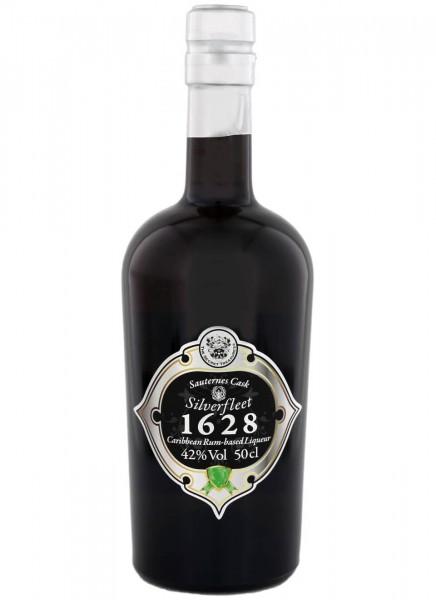 The Secret Treasures Sauternes Cask Silverfleet 1628 Rum Likör 0,5 L