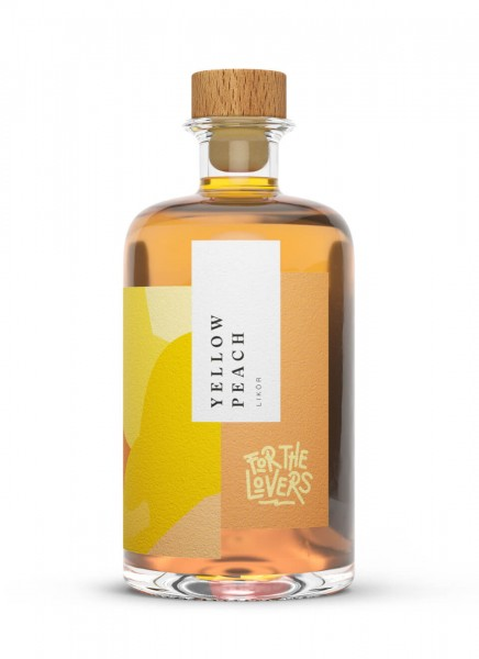 For the Lovers Yellow Peach Likör 0,5 L