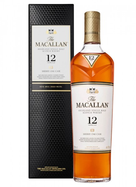 Macallan 12 Years Single Malt Whisky 0,7 L
