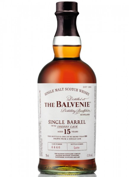 Balvenie 15 Years Single Barrel Sherry Cask Single Malt Scotch Whisky 0,7 L