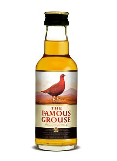 Famous Grouse Blended Scotch Whisky Mini 0,05 L