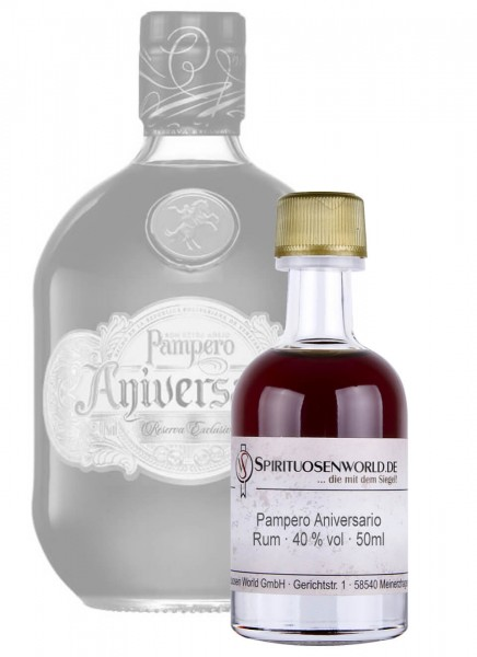 Pampero Aniversario Rum Tastingminiatur 0,05 L