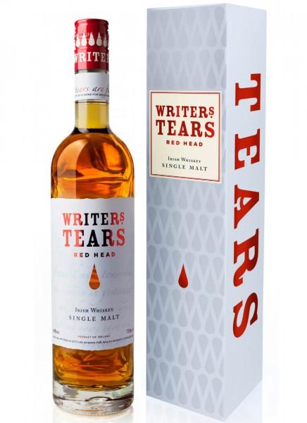 Writers Tears Red Head Irish Whiskey 0,7 L