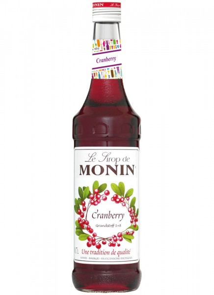 Monin Sirup Cranberry 0,7 L