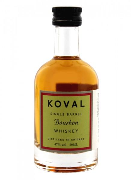Koval Bourbon Whiskey Miniatur 0,05 L