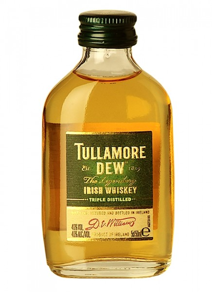 Tullamore Dew Irish Whiskey Miniatur 0,05 L