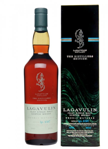 Lagavulin Distillers Edition 2002-2018 Islay Whisky 0,7 L