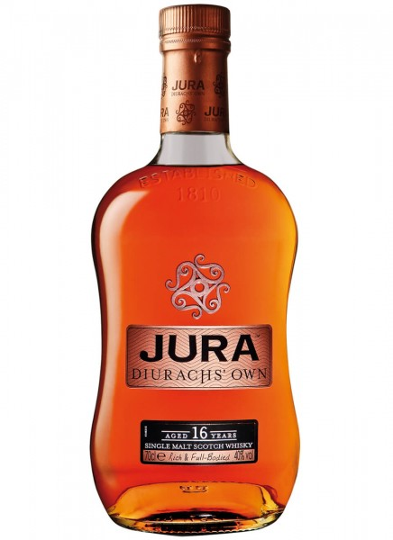 Jura 16 Years Single Malt Scotch Whisky 0,7 L