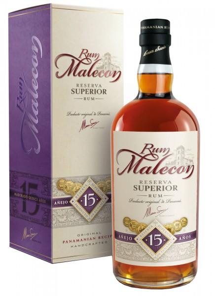 Malecon Reserva Superior 15 Anos Rum 0,7 L