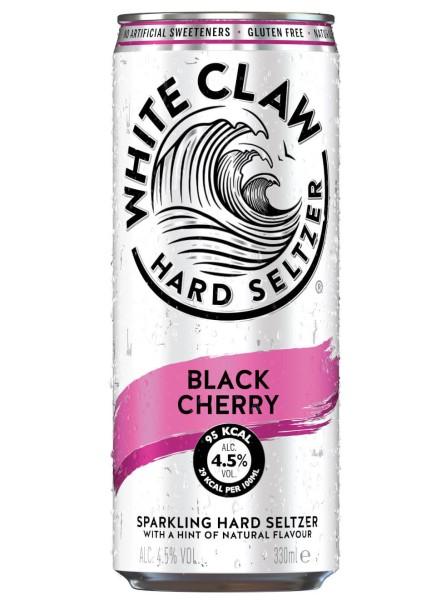 White Claw Hard Seltzer Black Cherry 0,33 L Dose