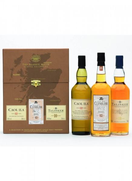 Coastal Classic Malts MIX PACK Single Malt Scotch Whisky 0,6 L