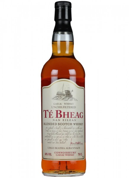 Te Bheag Unchillfiltered Whisky 0,7 L