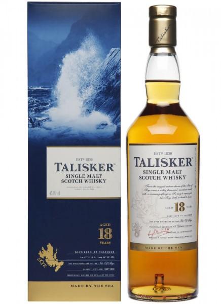 Talisker 18 Years Single Malt Scotch Whisky 0,7 L