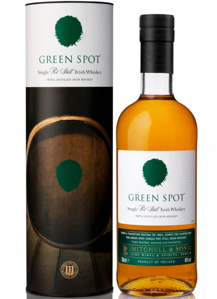 Green Spot Single Pot Still Irish Whiskey 0,7 L