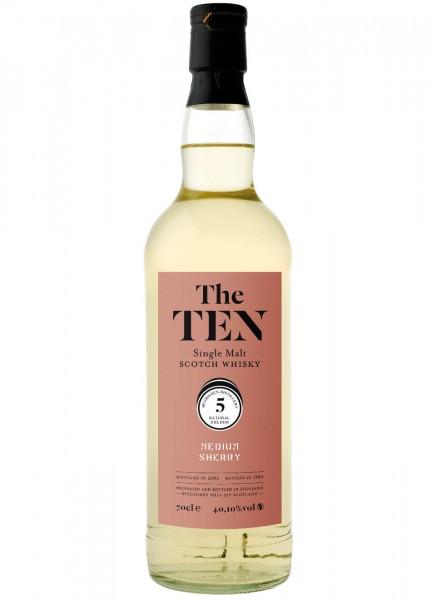 The Ten 5 Medium Sherry Whisky 2008 0,7 L