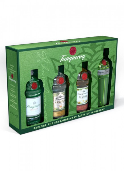 Tanqueray Gin Exploration Pack 0,2 L