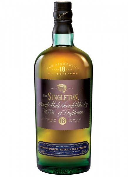 The Singleton of Dufftown 18 Years Single Malt Scotch Whisky 0,7 L