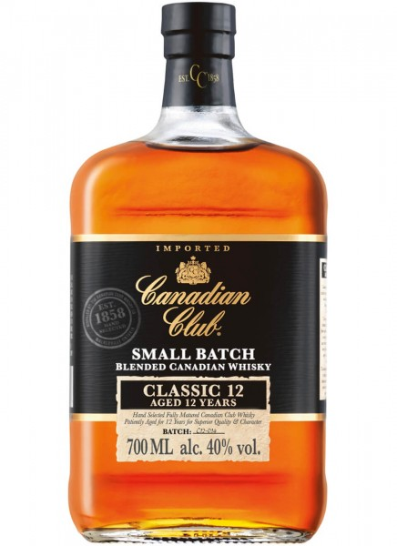 Canadian Club Classic 12 Jahre Whisky 0,7 L