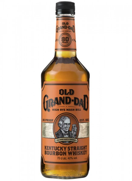 Old Grand Dad Kentucky Straight Bourbon Whiskey 0,7 L