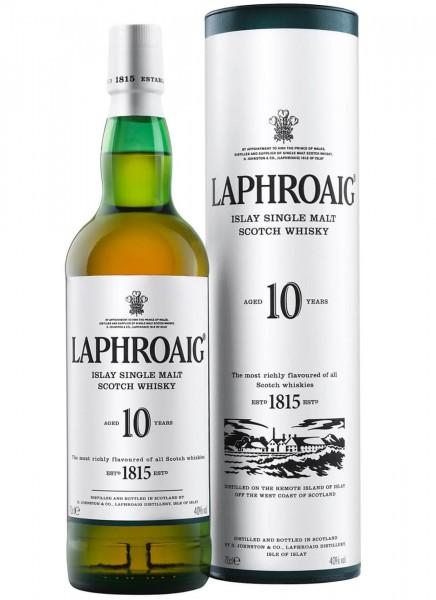 Laphroaig 10 Years Islay Single Malt Scotch Whisky 0,7 L