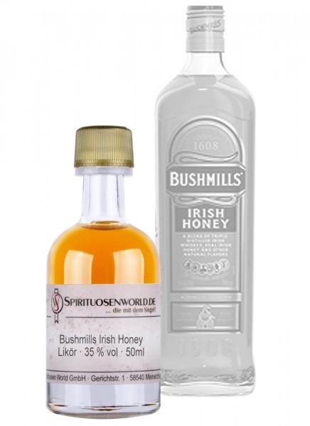 Bushmills Irish Honey Whiskey-Likör Tastingminiatur 0,05 L