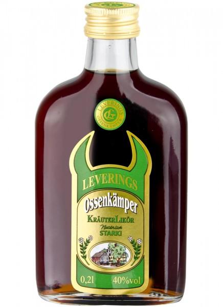 Ossenkämper Kräuterlikör Taschenflasche 0,2 L