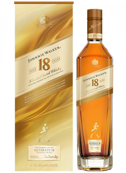 Johnnie Walker Aged 18 Years Blended Scotch Whisky 0,7 L