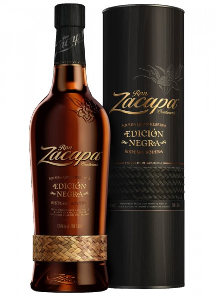 Zacapa Edicion Negra Rum 0,7 L