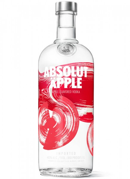 Absolut Vodka Äpple 1 L