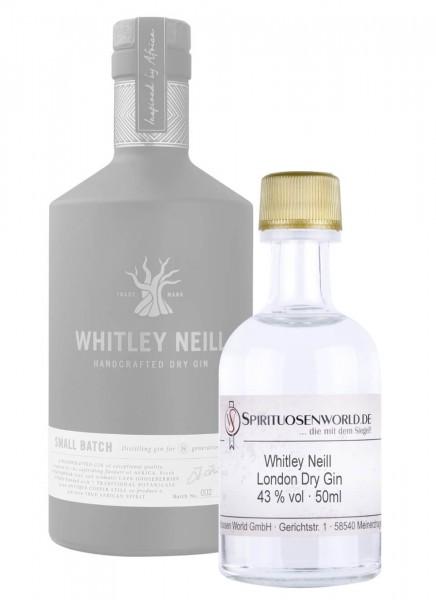 Whitley Neill London Dry Gin Tastingminiatur 0,05 L