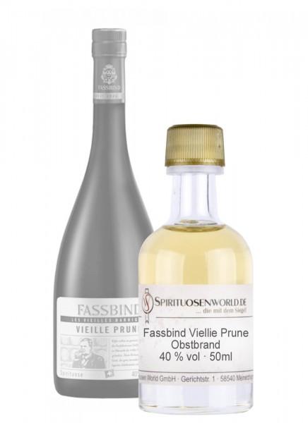 Fassbind Vieille Prune Tastingminiatur 0,05 L