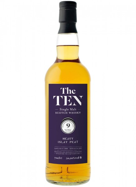The Ten 9 Heavy Islay Peat Whisky 2008 0,7 L