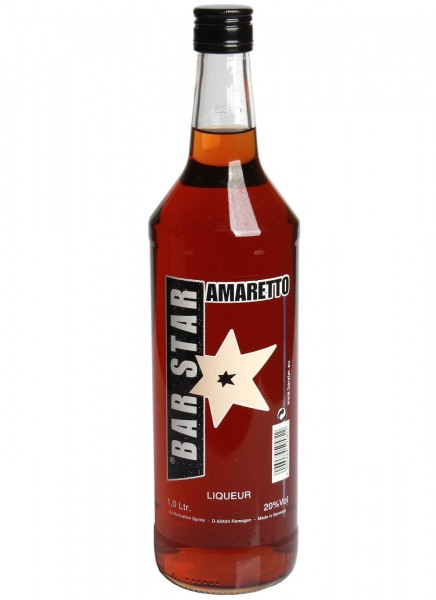 Bar Star Amaretto Likör 1 L