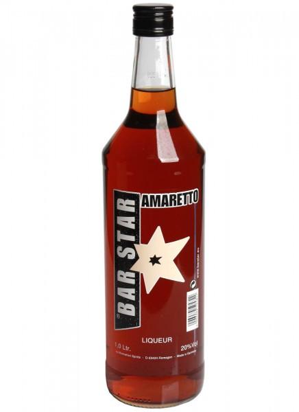 Bar Star Amaretto Likör 1 L