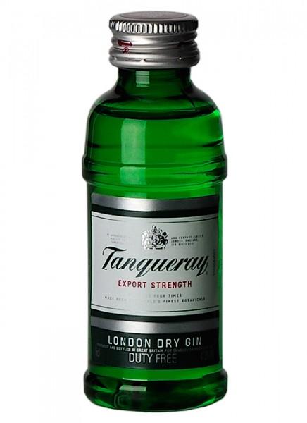 Tanqueray London Dry Gin Miniatur 0,05 L